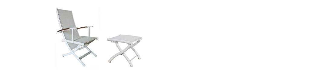 RIVAGE sedie e sgabelli in alluminio